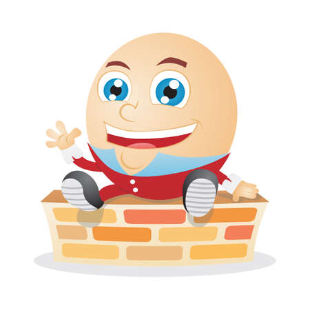 giggle: humpty dumpty laughing