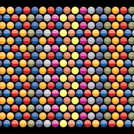 circles pattern: seamless circles pattern background