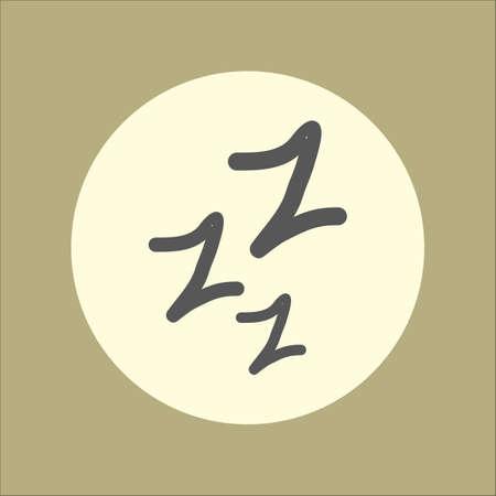 exhausting: sleeping symbol
