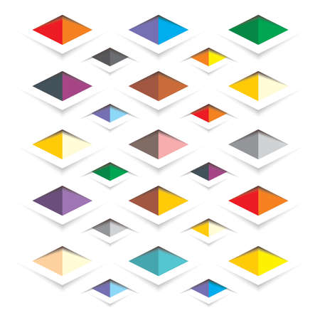 rhombus background Ilustrace