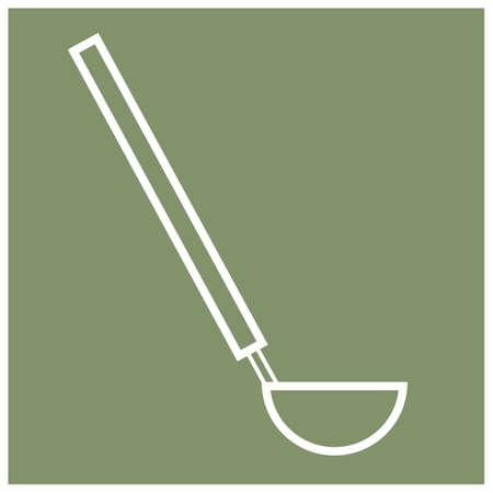 ladle: ladle spoon