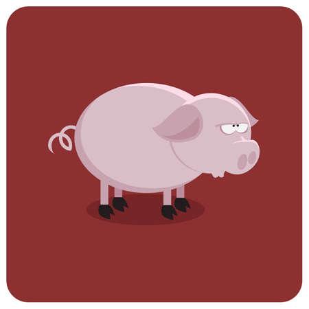 peasant: pig