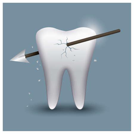 attack: tooth attack Illustration
