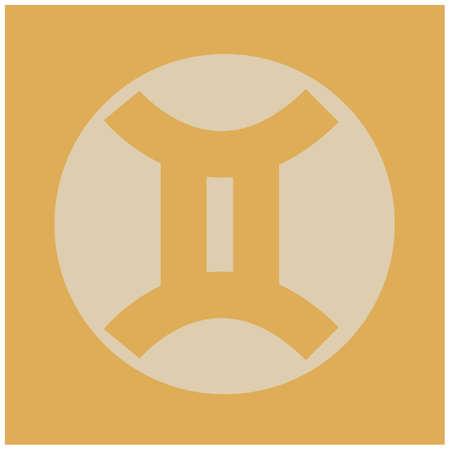 gemini: gemini horoscope Illustration