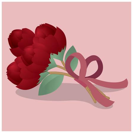 wedding: wedding bouquet Illustration