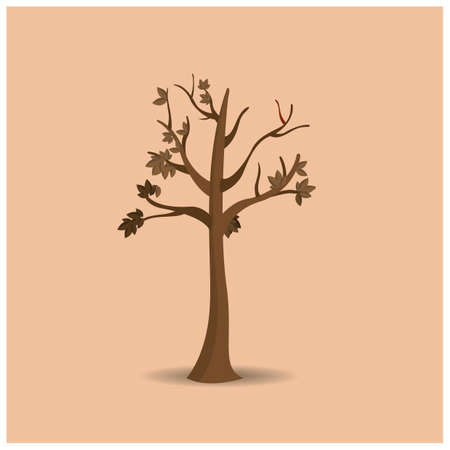 barren: barren tree Illustration