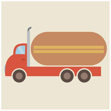 barco petrolero: cisterna de combustible