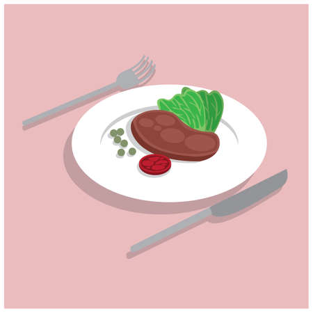 nuptials: dining Illustration