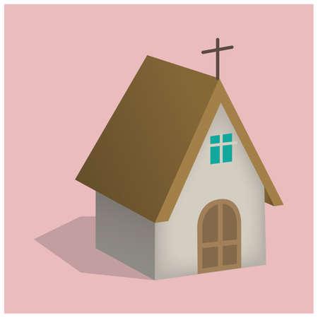 nuptials: church Illustration