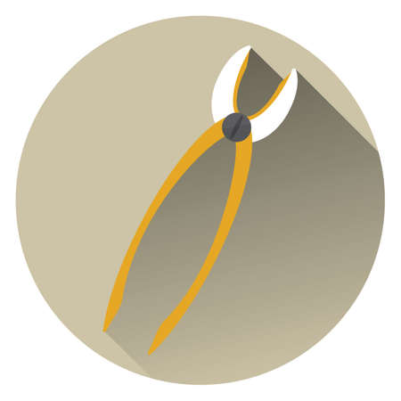 pliers: dental pliers Illustration
