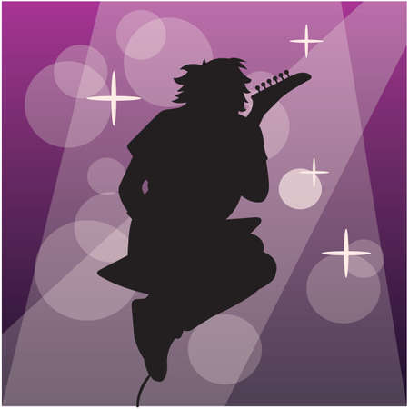 rocker: silhouette of a rocker