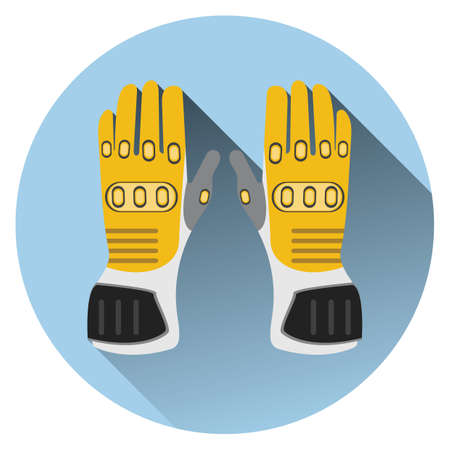 hand wear: motorcycle gloves