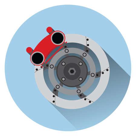 brake pad: disk brake