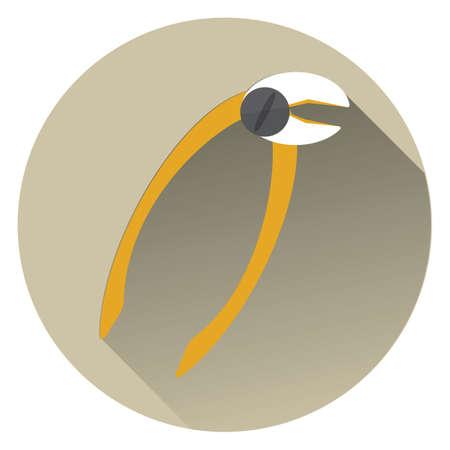 pliers: dental pliers Illustration