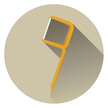 floss: floss toothpick