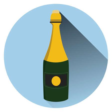 booze: champagne bottle