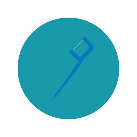 toothpick: floss toothpick