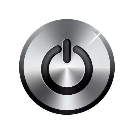 uit-knop Vector Illustratie