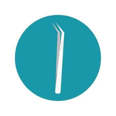 tweezers: pinzas dentales