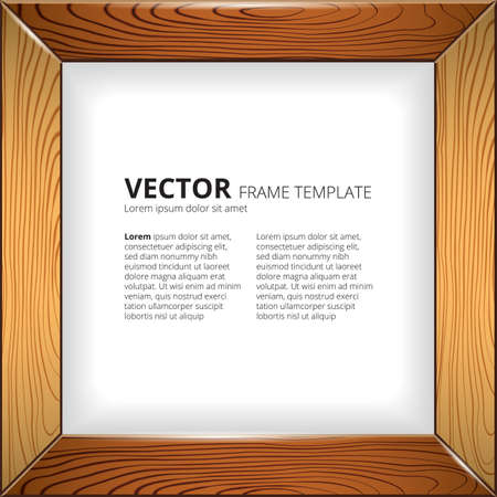 wooden frame wooden frame