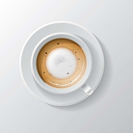 foam: coffee with foam