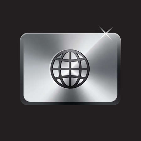 web: web button Illustration
