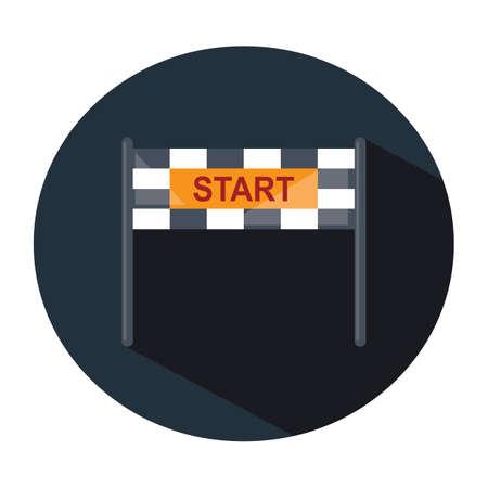 starting line: starting line banner