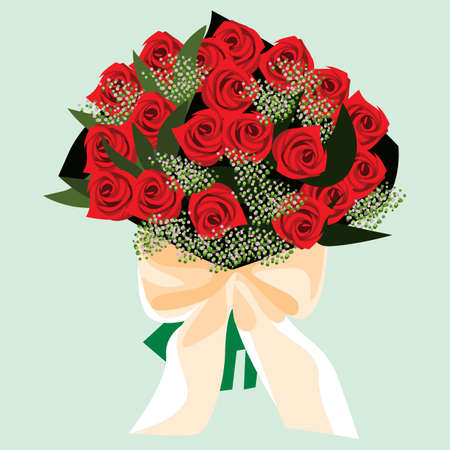 rose bouquet: a bouquet of rose flowers
