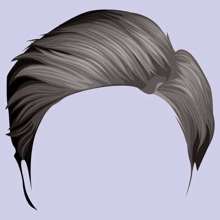 style: hair style Illustration