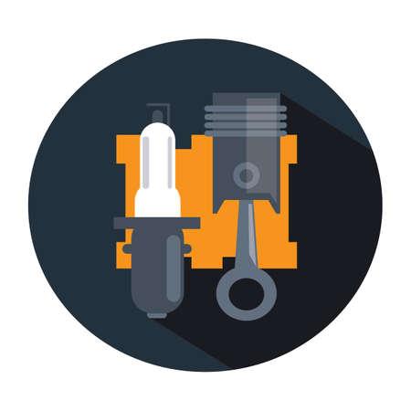 headlight: headlight with piston