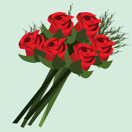 bunch: rose flowers bunch