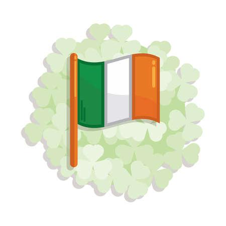 ireland flag: ireland flag