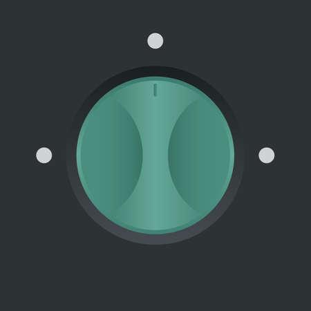 knob: knob button
