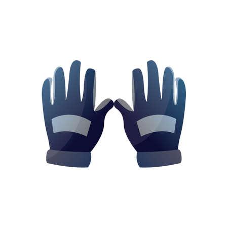 racer: racer gloves Illustration