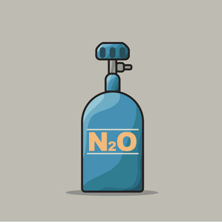 oxide: nitrous oxide Illustration