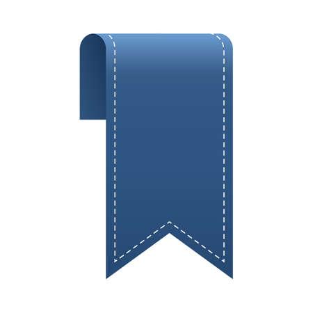 conception ruban de signet