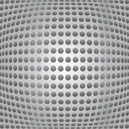 holes: metal background with holes Illustration