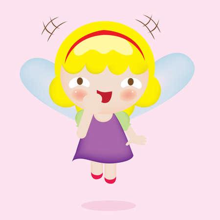 fairy: fairy yawning