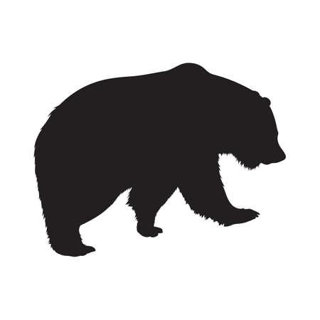 bear silhouette: bear silhouette