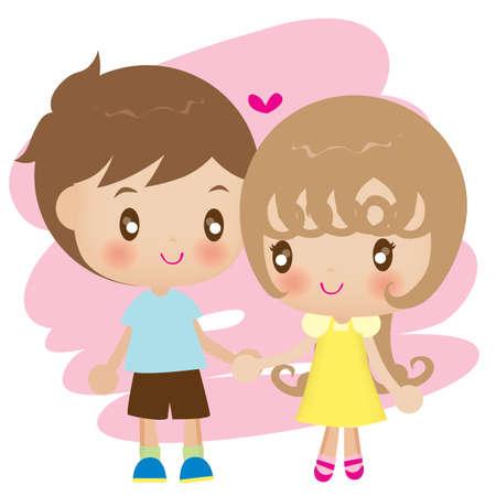 couple holding hands: couple holding hands