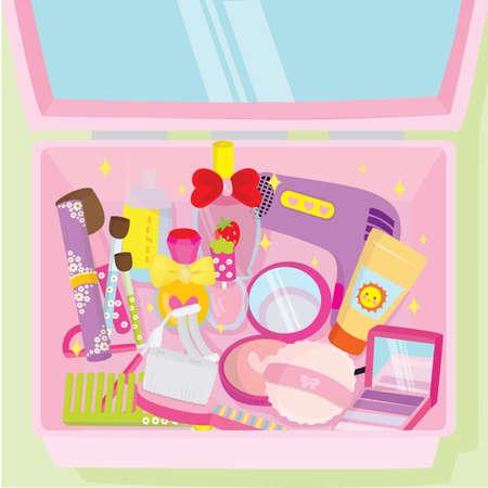 toner: make up box