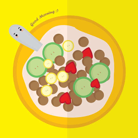 cereal: cereal Illustration