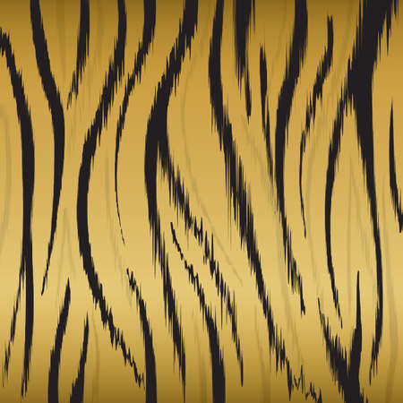 What is the history about tiger fur?
