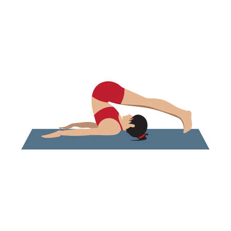 inverted: plough inverted asana
