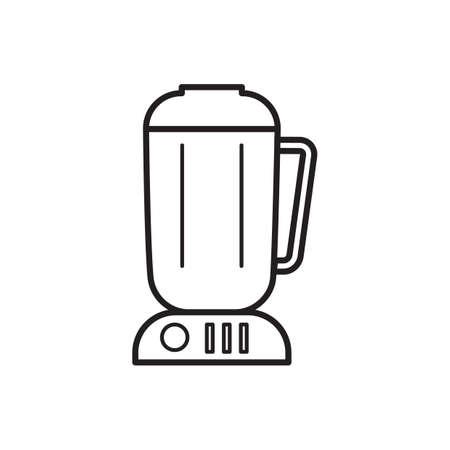 processors: food blender Illustration