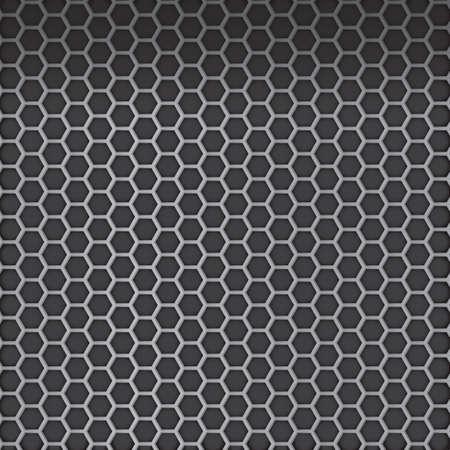 steel industry: metallic background Illustration