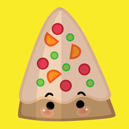 pizza slice: pizza slice Illustration