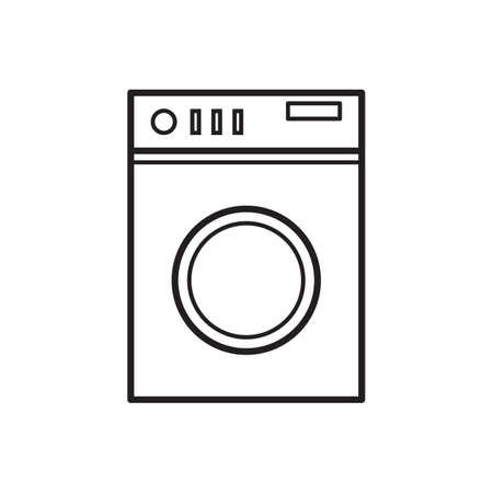 washing machine: washing machine Illustration
