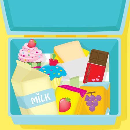 refreshments: refreshments in box