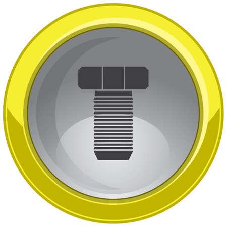 screw: screw button